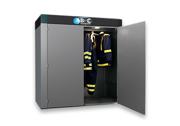B&C Technologies FC-20 Fireman's PPE Turnout Gear Drying Cabinet